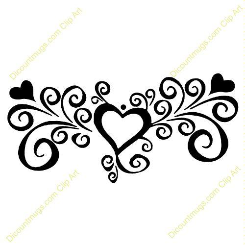 Lines clipart swirl Art Search Search Google heart