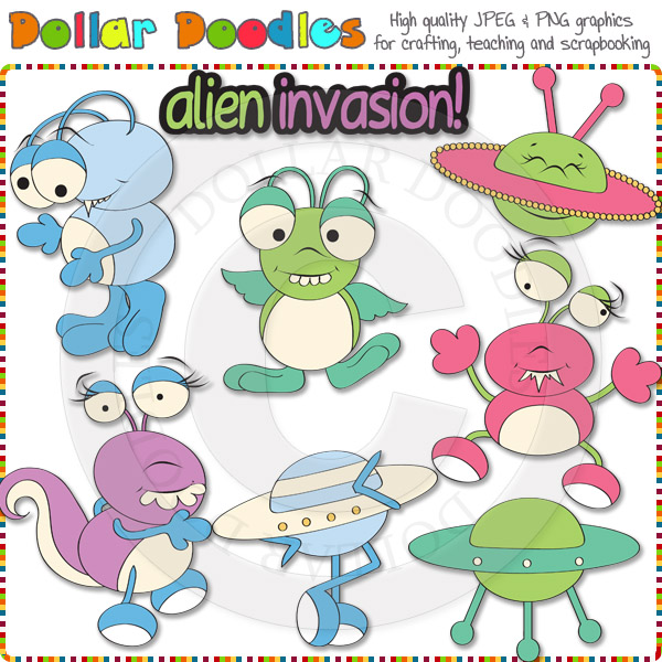 Invasion clipart alien invasion 00 Invasion : [DSK99999] Invasion
