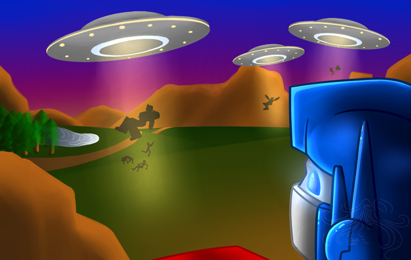 Invasion clipart alien invasion Alien on Alien by by