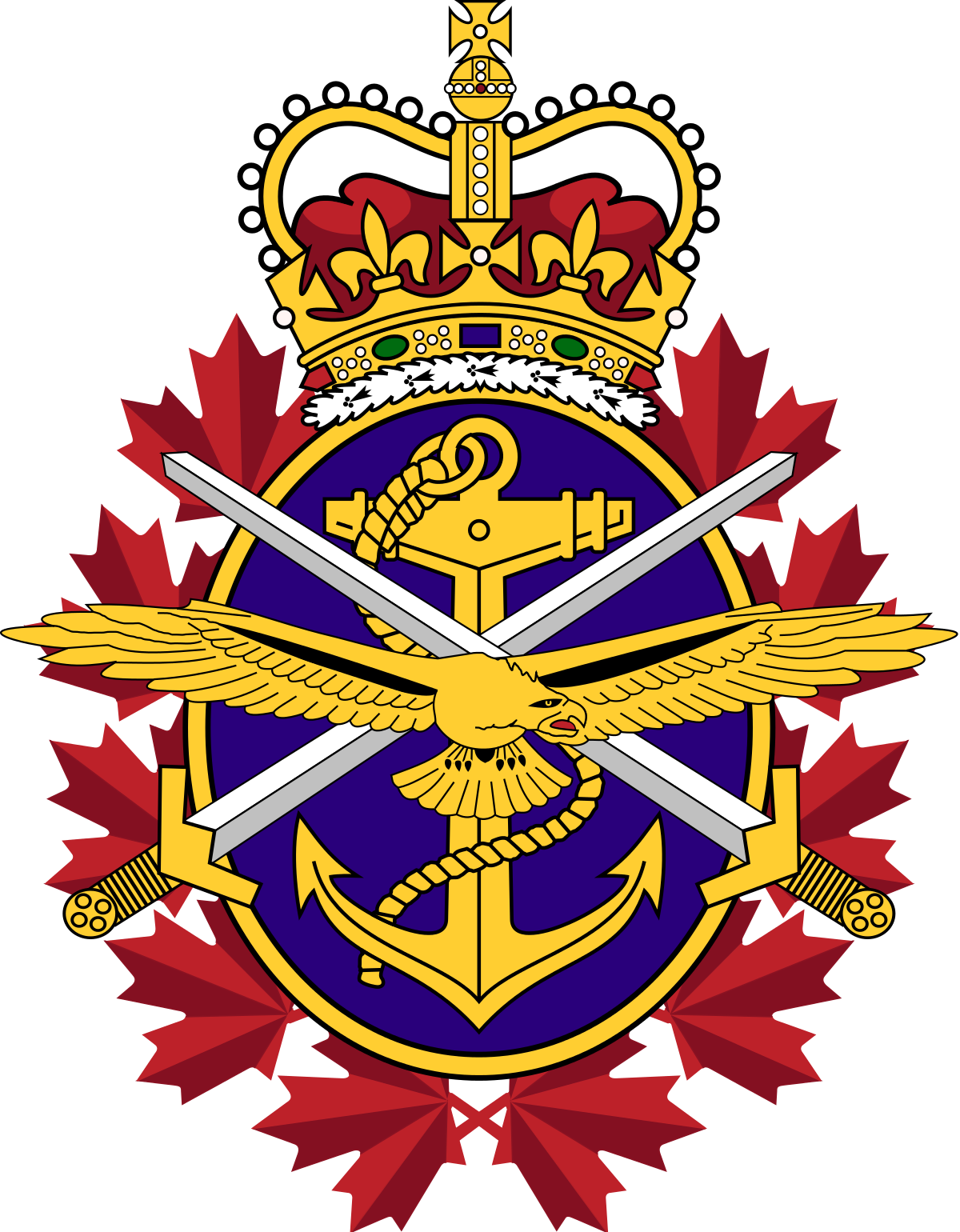 Invasion clipart armed force Wikipedia Forces  Canadian Armed