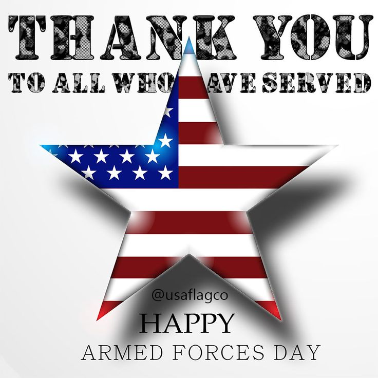 America clipart armed forces day Forces The on Forces Day