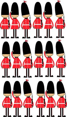Invasion clipart queen's guard Toy Clipart Commercial Digital Art