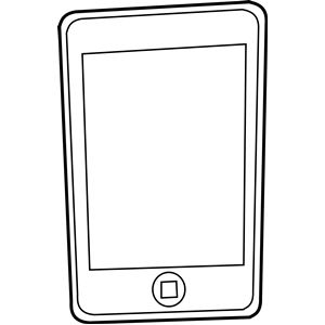 Iphone clipart cell phone texting Phone Clip Cell phone clipart