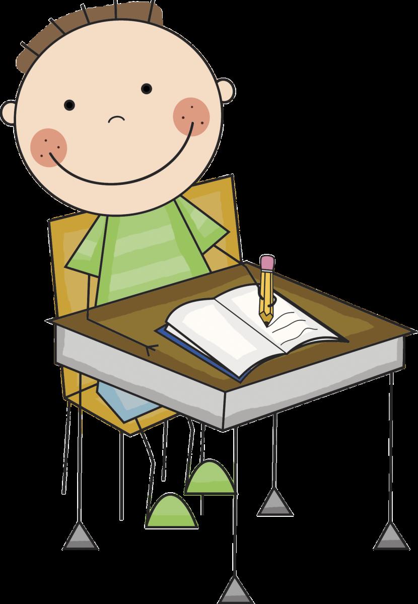 Desk clipart cute Com Writing Clipartion Images Kids