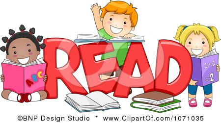 Club clipart literacy Word Studio READ Clipart Royalty