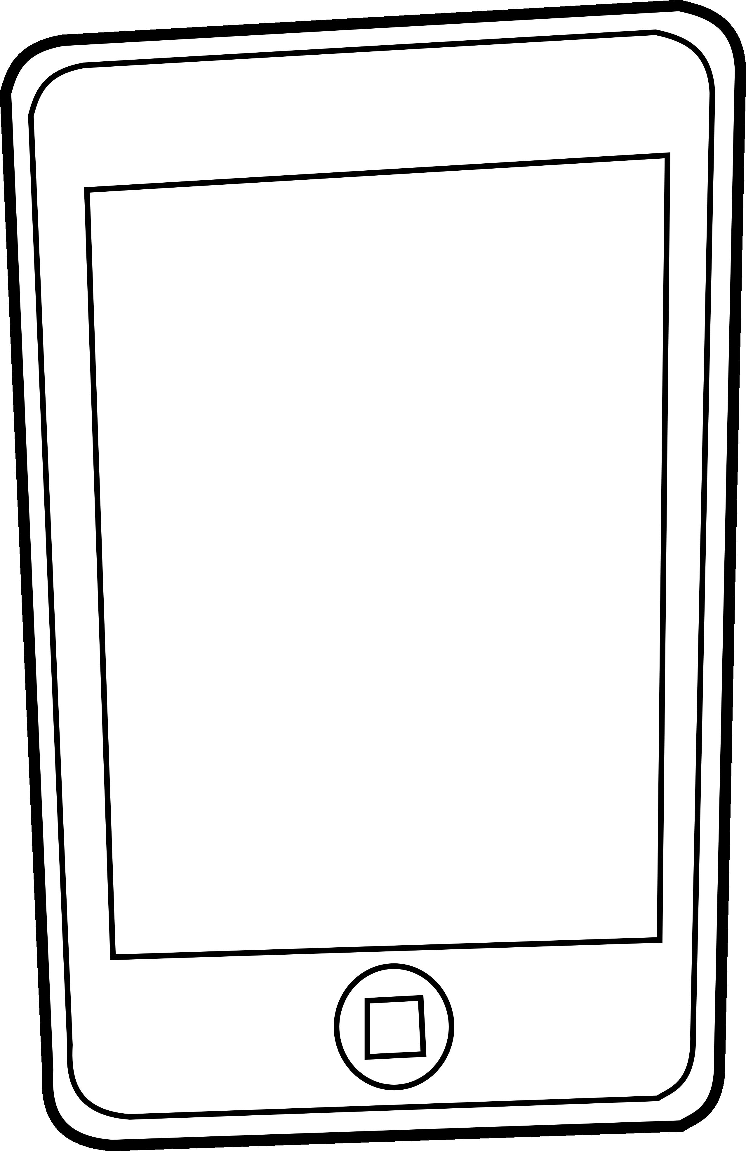 Iphone clipart border Ipad (61+) and clip black