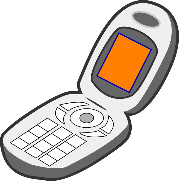 Orange clipart cell phone Cliparting 57 Free cell Clipart