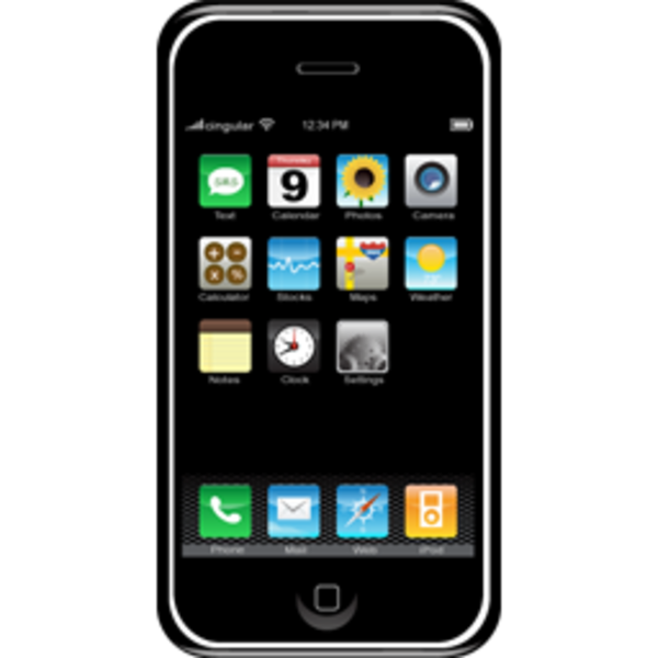 Phone clipart mbile #1