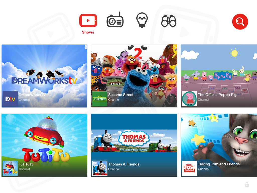 Iphone clipart ipad kid Kids YouTube Launches Kids' and