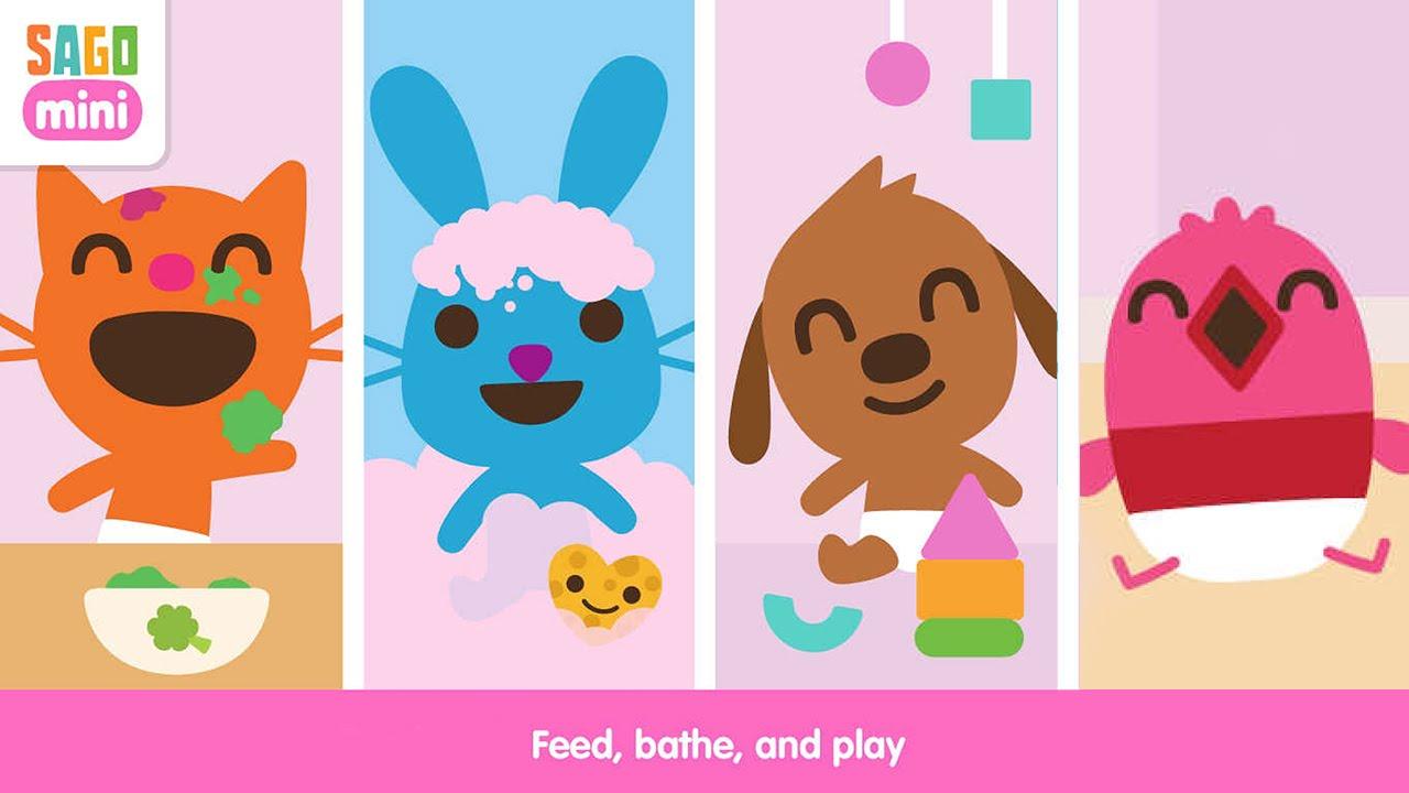 Iphone clipart ipad kid Mini Kids Touch iPhone/iPad/iPod Sago