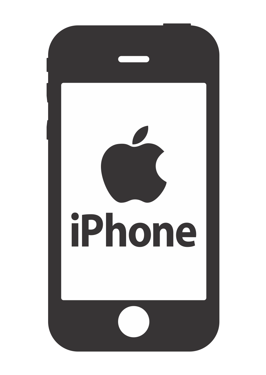 Phone clipart mobile logo Clipart Iphone Text Cliparts Logo