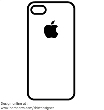 Iphone clipart silhouette Iphone graphic graphic clipart clipart