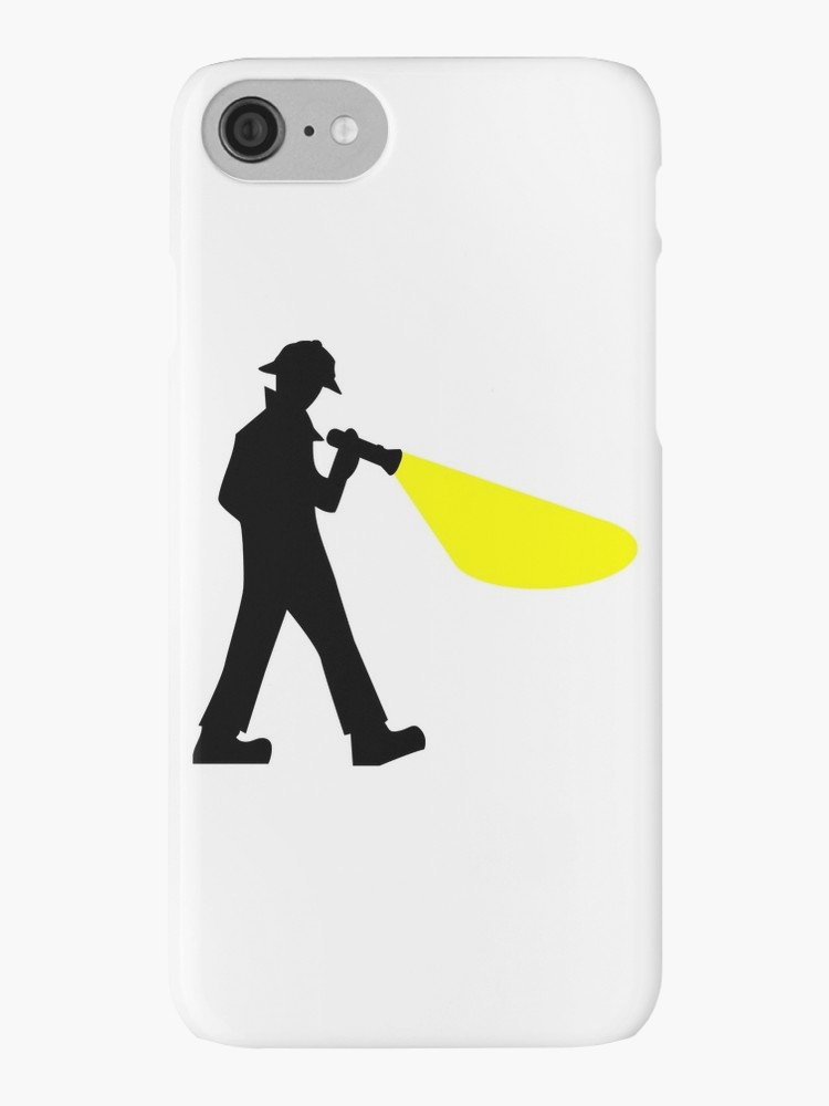 Iphone clipart silhouette Silhouette Detective Cases by Detective