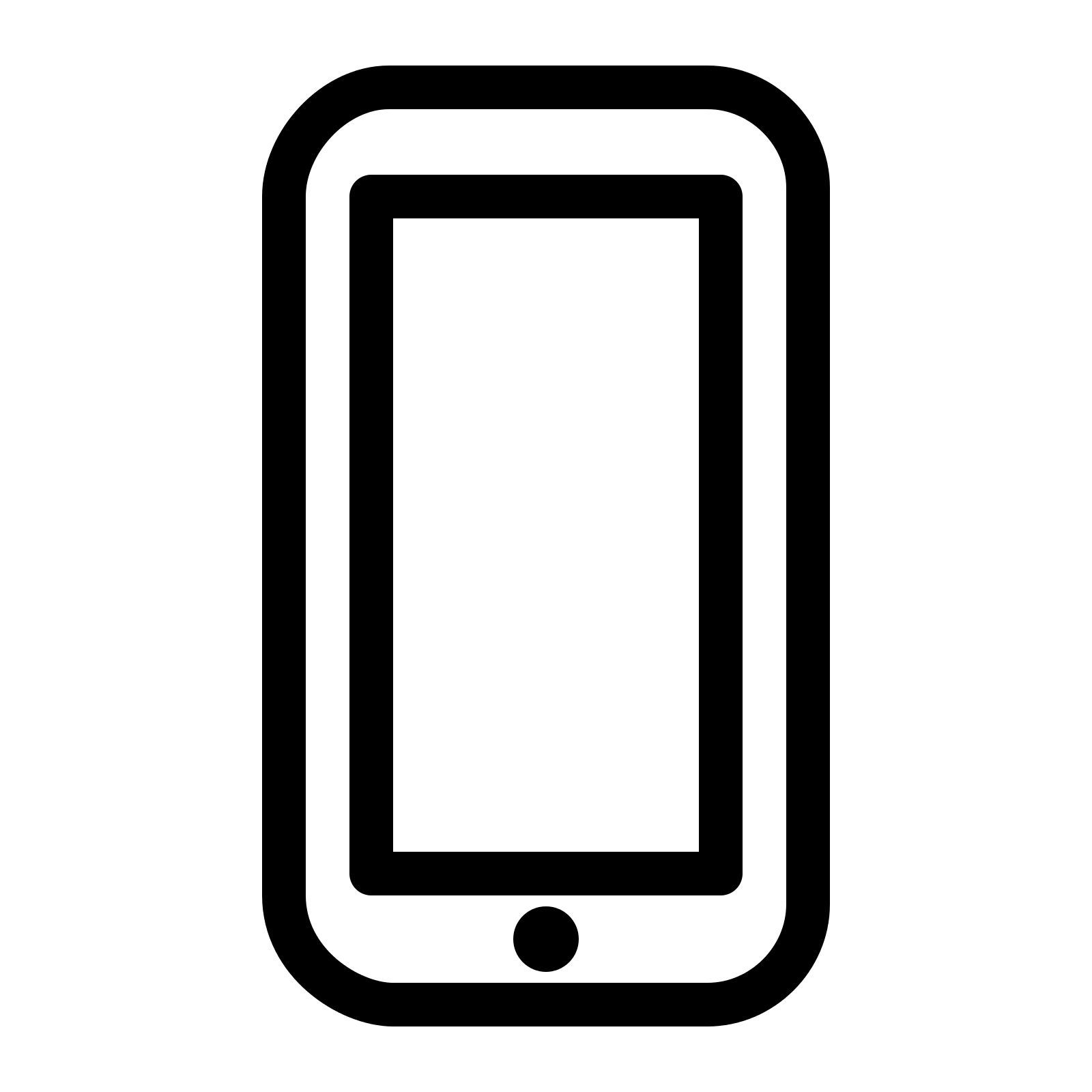 Iphone clipart svg Free iPhone PNG icon Download