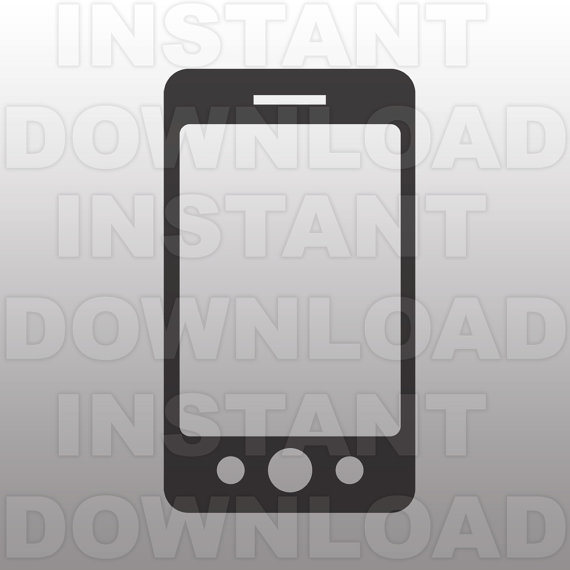 Iphone clipart svg Cutting on Art sammo Sizzix
