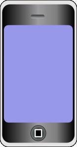 Iphone clipart svg Art Clip Phone Art free