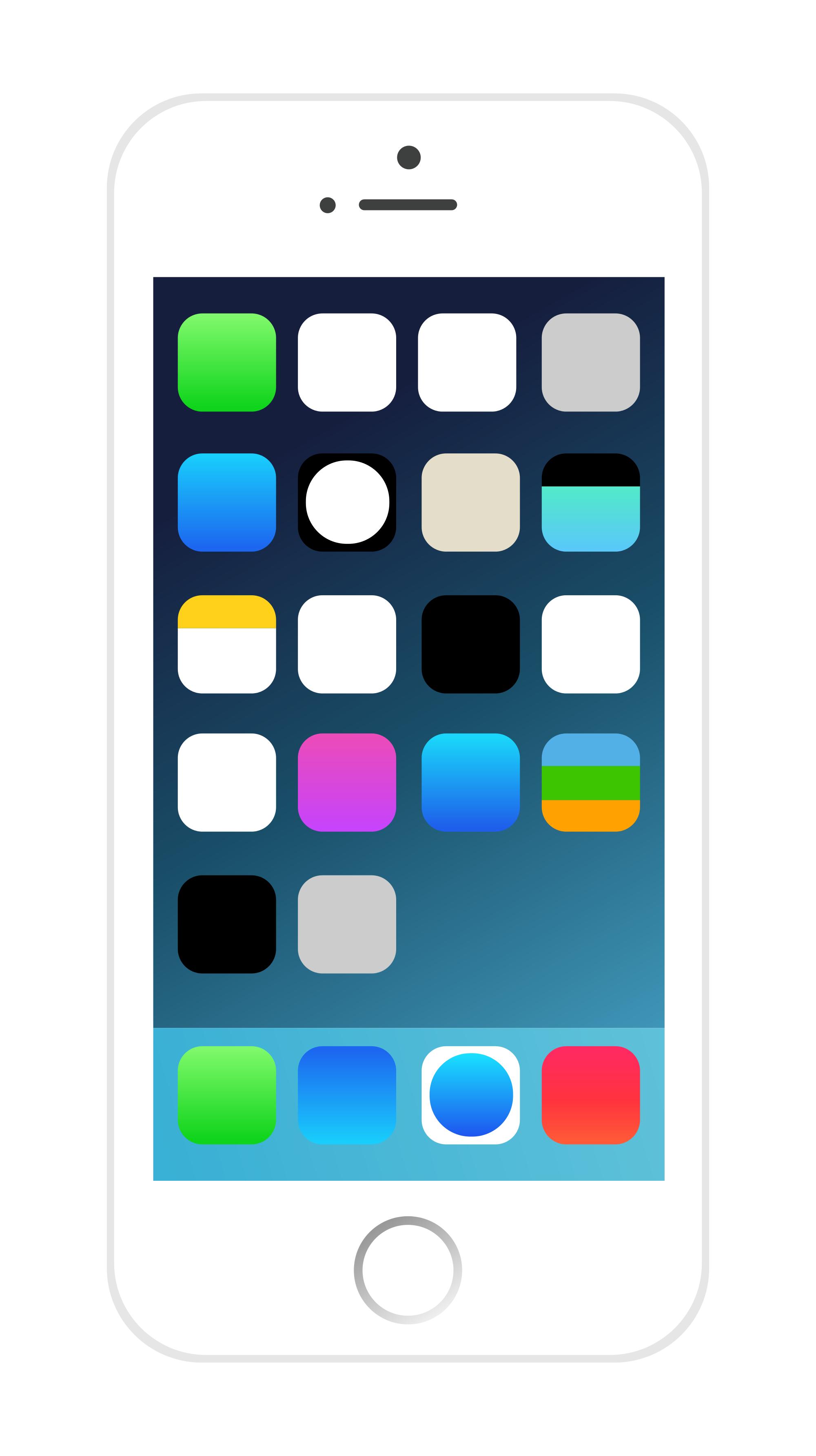 Iphone clipart svg Svg Open Wikimedia File:iPhone icons