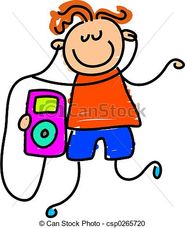 Headphone clipart ipod touch Clipart Free 20clipart Panda Ipod