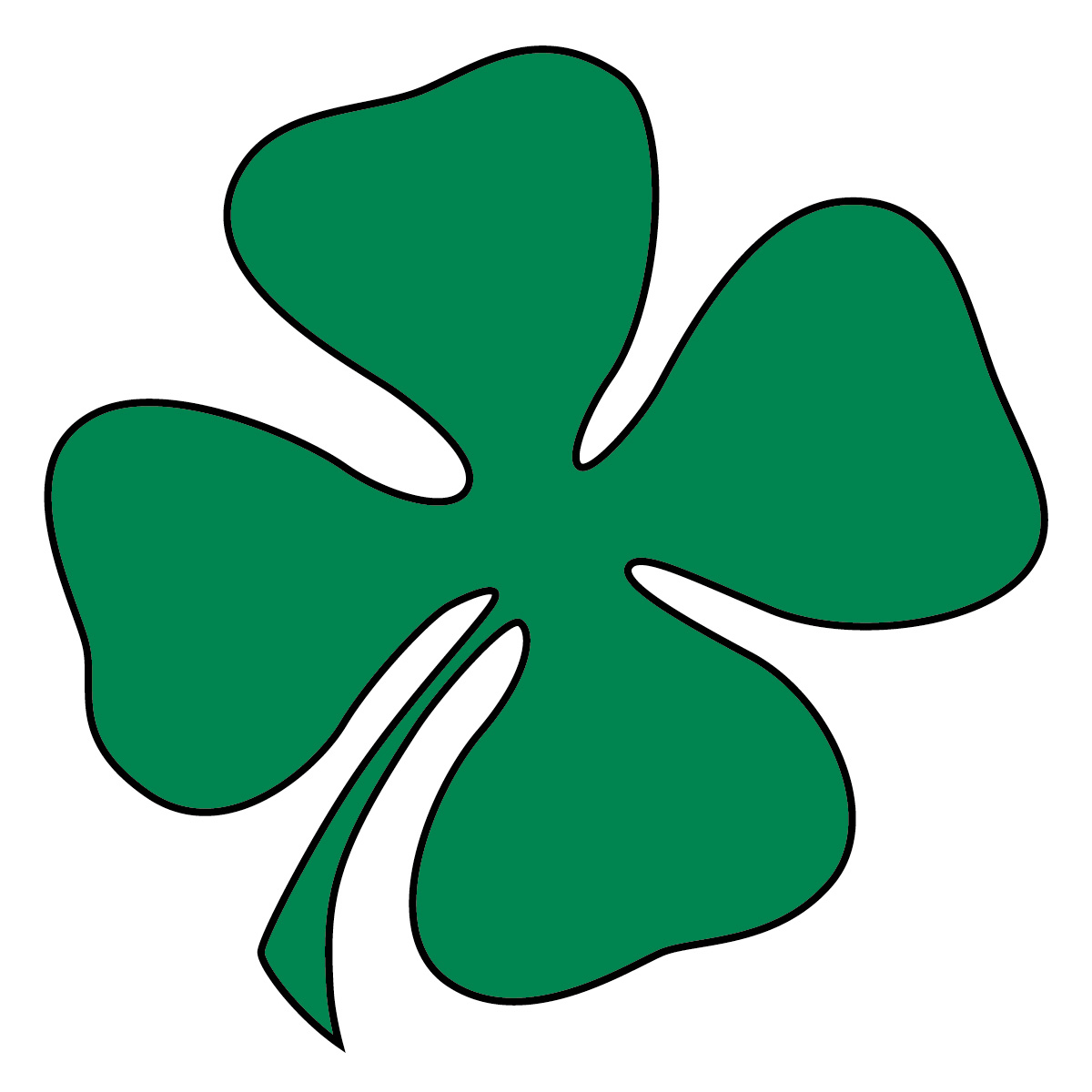 Green Day clipart clover Clip clipart Irish clip art