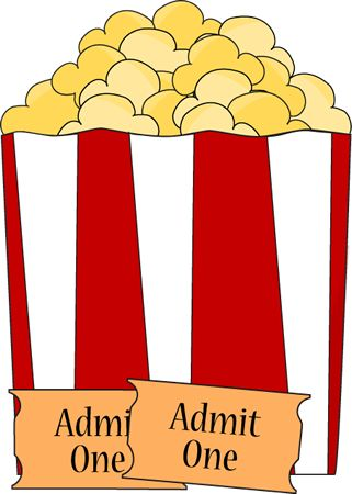 Popcorn clipart ticket Graphics Use Pinterest clip just