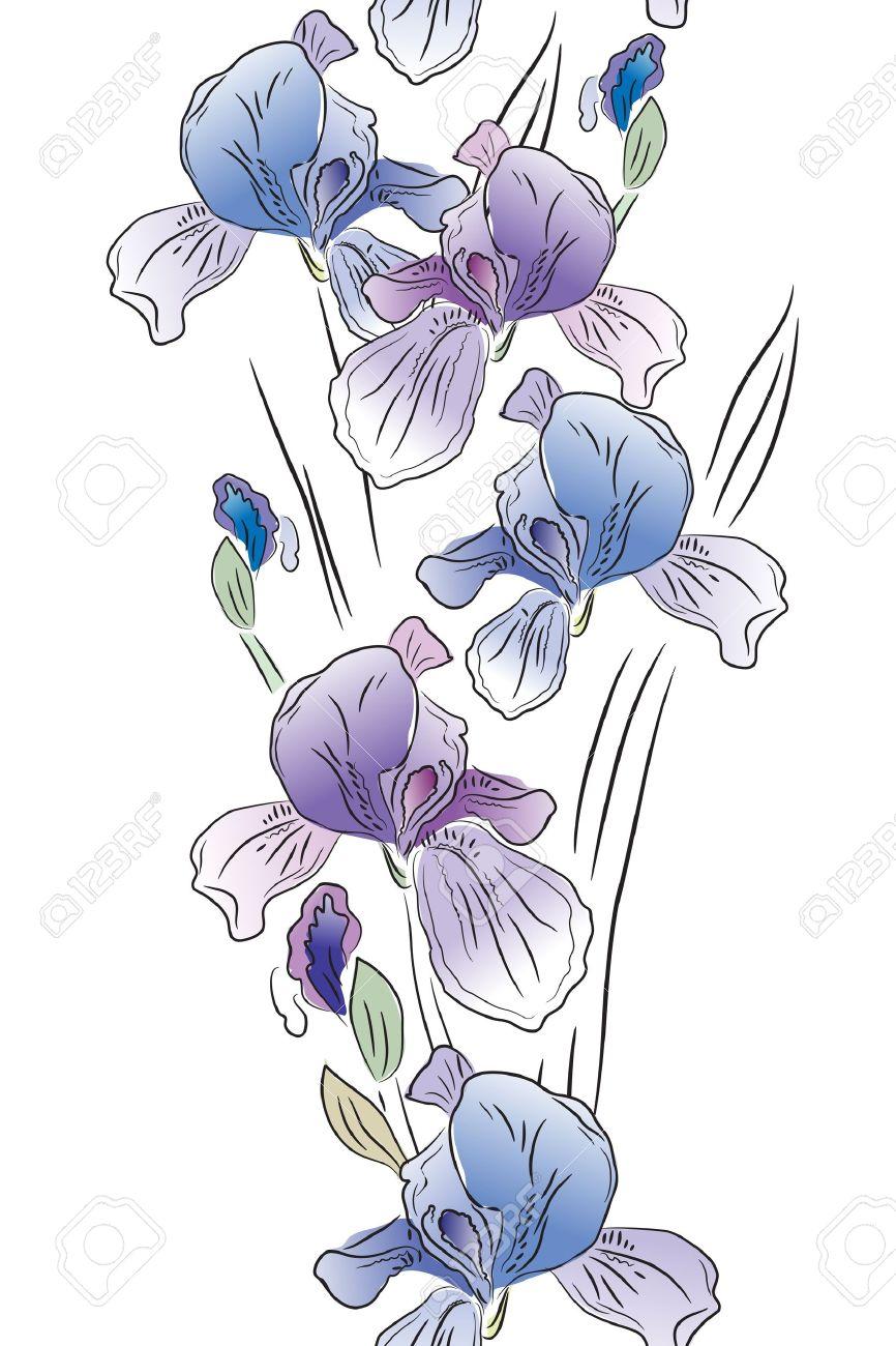 Iris clipart violet Clipart Iris iris #26 flower
