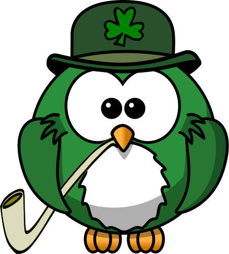 Irish clipart Art Download Clip Owl Irish