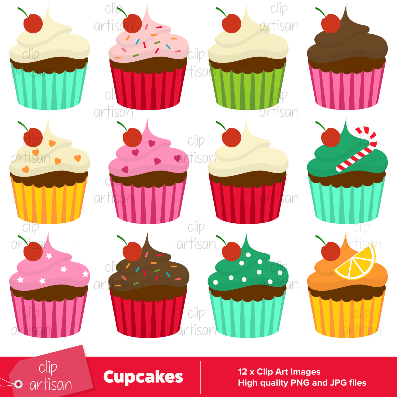 Cake clipart cute cupcake Cake  Clipart a Cupcake