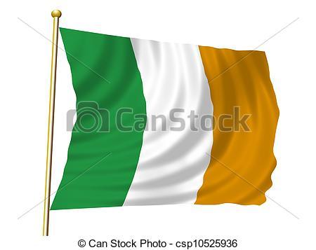 Irish clipart irish flag Flag Illustrations Irish flag
