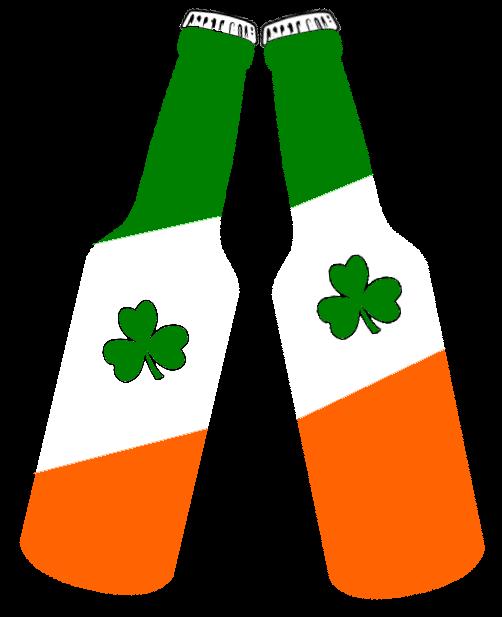 Irish clipart irish flag Bottles Clker com  Flag