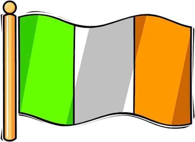 Irish clipart irish flag Art Flag Clipart Ireland #5166