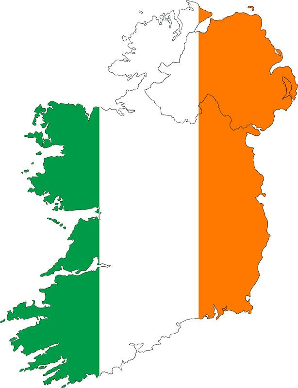 Irish clipart irish flag 25+ ireland on Country Flag