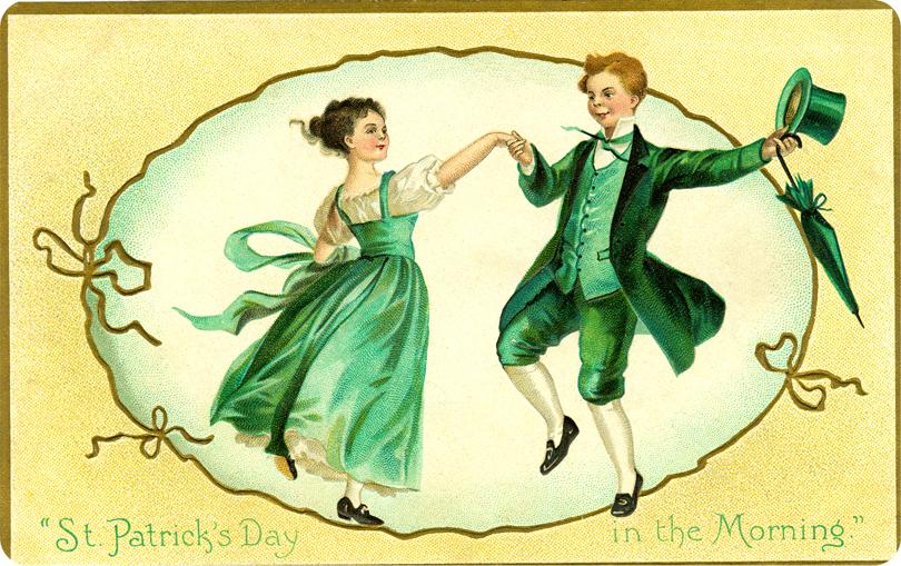 Danse clipart jig Clipart Clip Dancers Art on