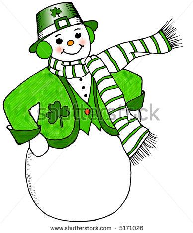 Irish clipart snowman Download Clipart Christmas Christmas Irish