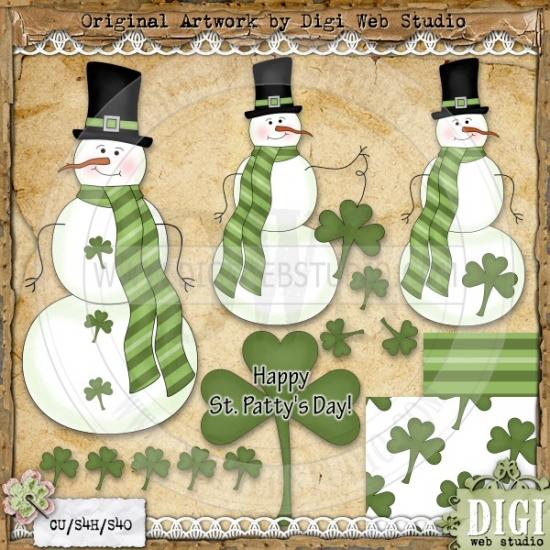 Irish clipart snowman Irish Clip Art Leah Web