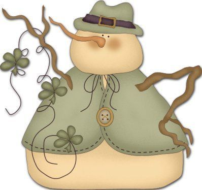 Irish clipart snowman Find best Dibujos on Pinterest