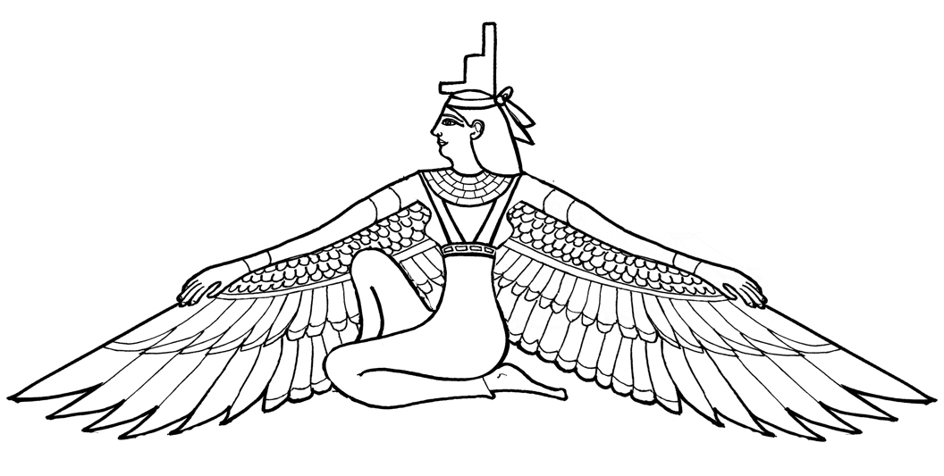 Isis clipart egyption Best 48 on Tattoo