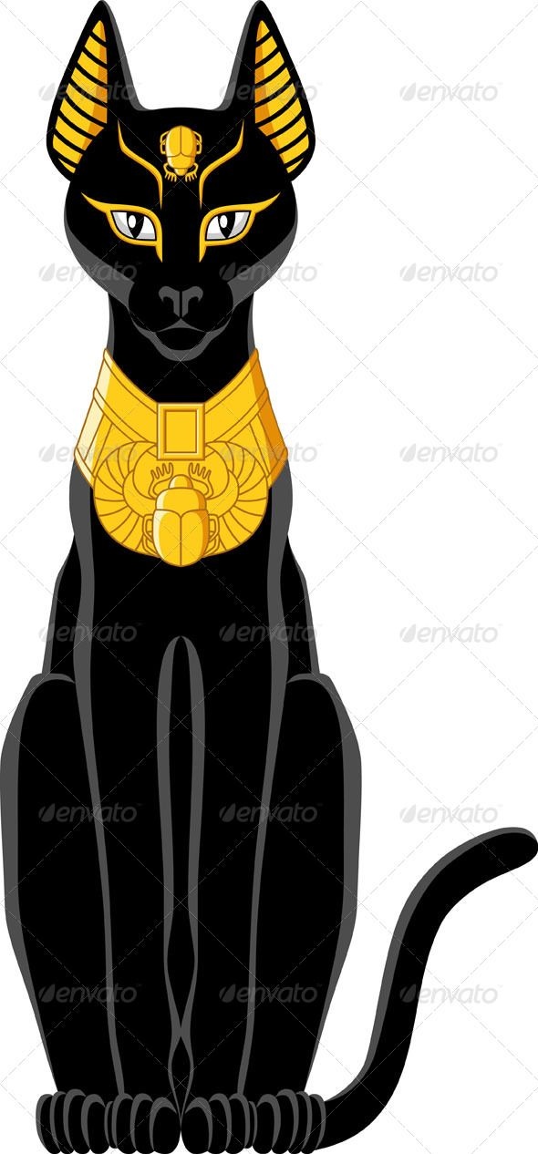 Black Cat clipart egyptian cat About best  isis images