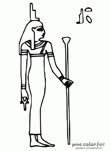 Isis clipart egyption Best and 932 stencils Fun!