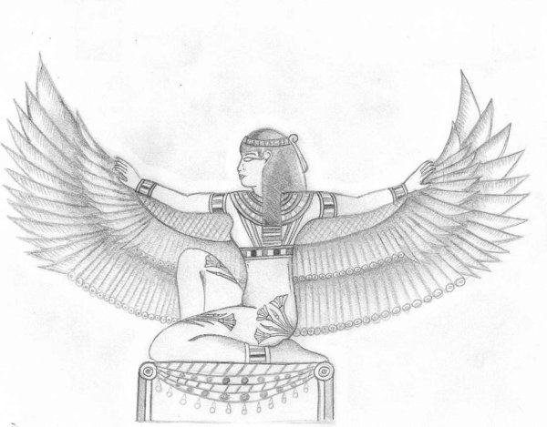 Isis clipart symbol egypt Search the temple isis Experience