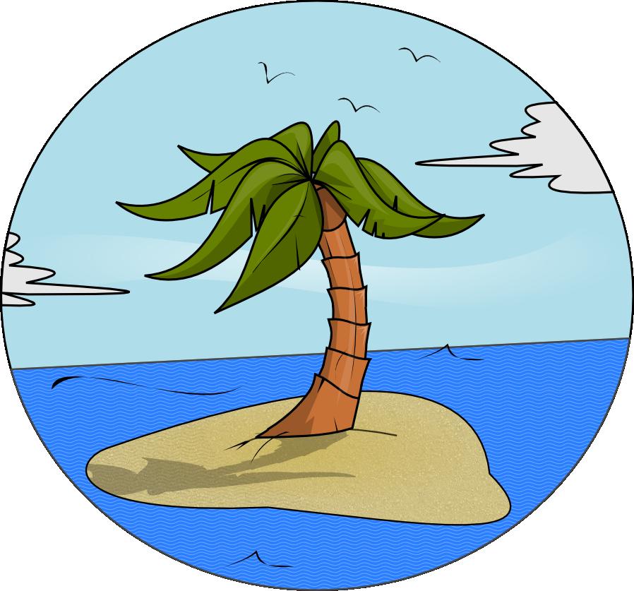 Eiland clipart Domain Island & Free Clip