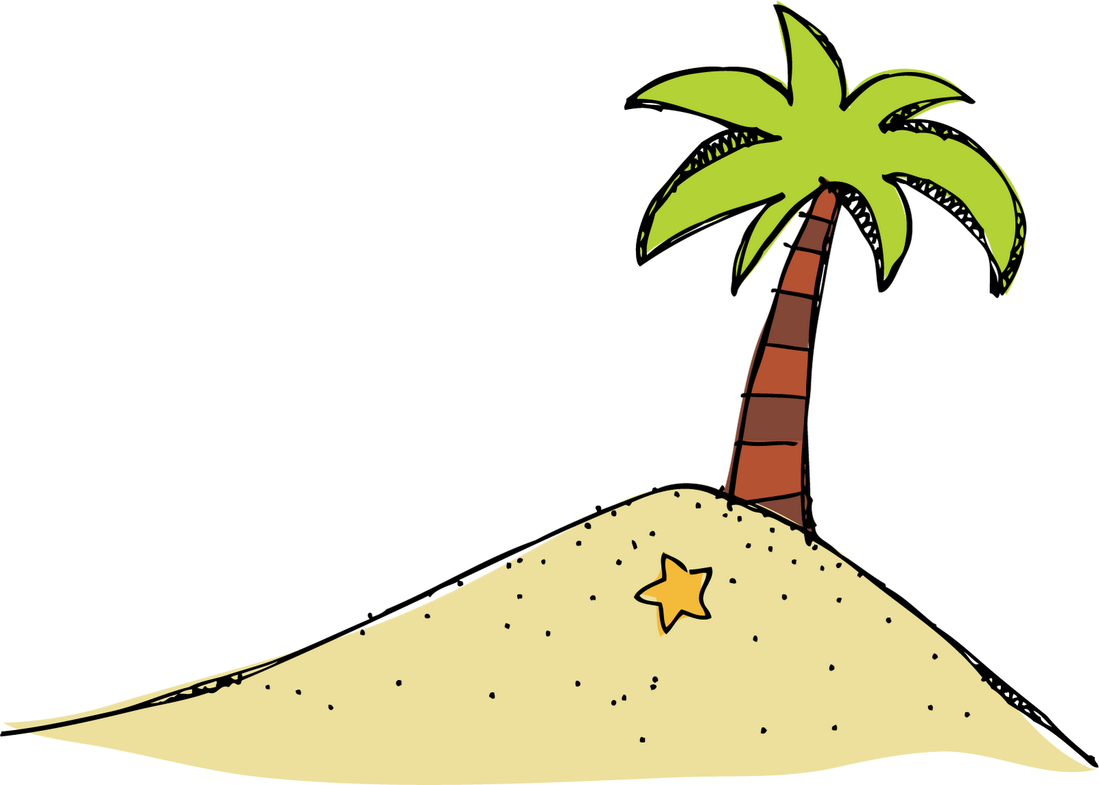 Eiland clipart long tree Clipart Island com Best Island