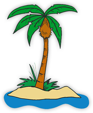 Palm Tree clipart face Tree Palm on tree Palm