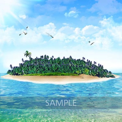 Islet clipart Beach Beautiful_island2 Decorative Beautiful_island4 (pperoni)