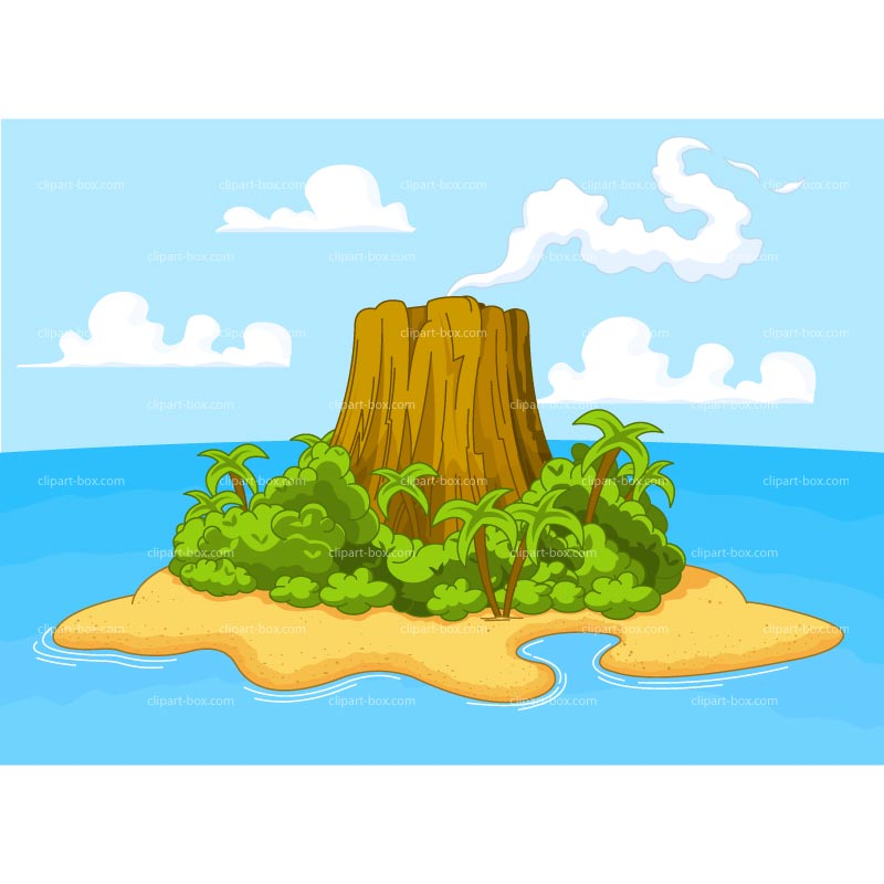 Islet clipart beach water Clipart CLIPART Clipground ISLAND Islet