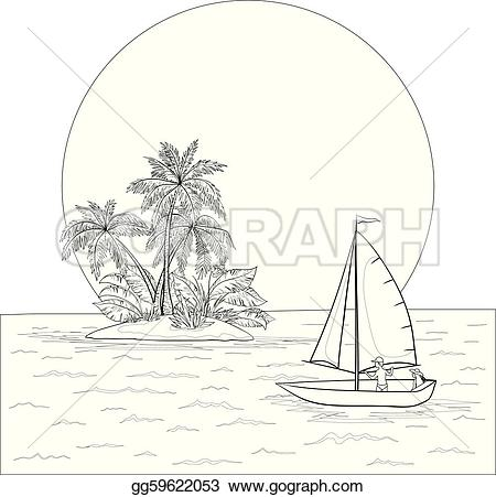 Islet clipart boat trip #4
