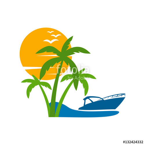 Islet clipart boat trip #3