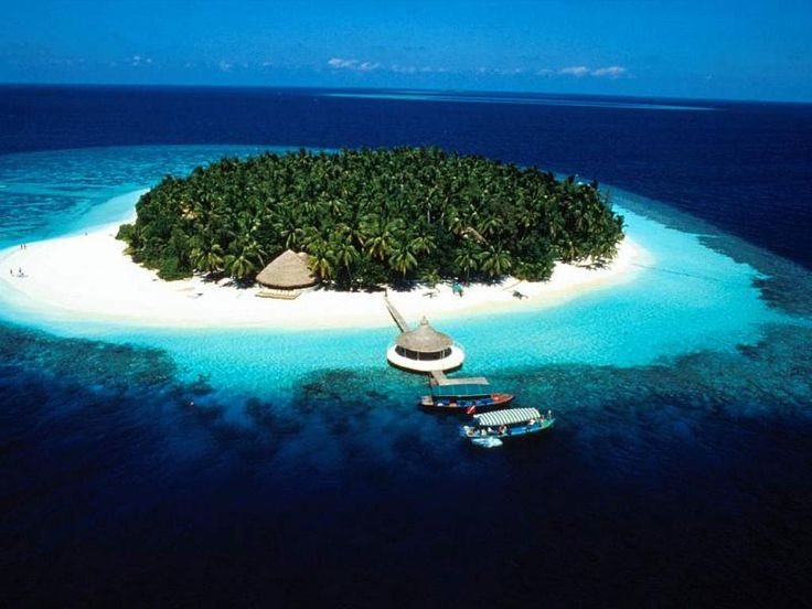 Islet clipart dream vacation Images about Maldives on 17