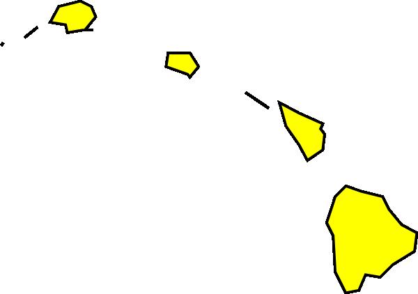 Islet clipart hawaian Hawaiian Map Zone Island Cliparts