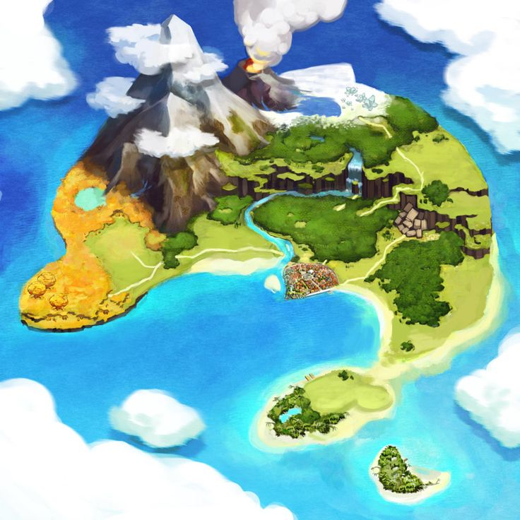 Islet clipart island map Map Pictures Sera Best Alchemists