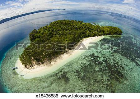 Islet clipart landform Raja clipart clipart Download Ampat